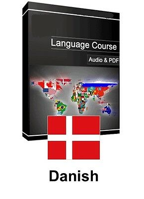 Learn to Speak Danish - Teach Yourself Language Course on PC CD