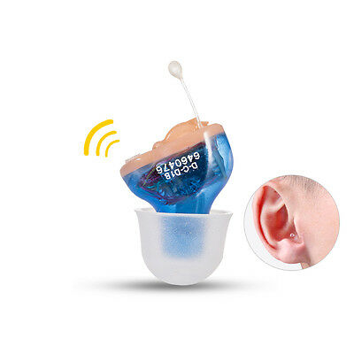 Hearing Aid (Cic) Complete in Canal,Invisible, Sound Voice Amplifier USA