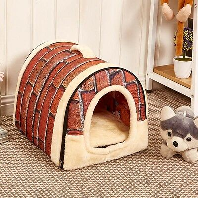Fashion Soft Pet Dog Bed House Kennel Mat Pad Warm Washable Puppy Cat Cushion
