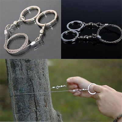 Steel Wire Saw Camping Hiking Portable Survival Line Trees Survive Saw Rope Wire