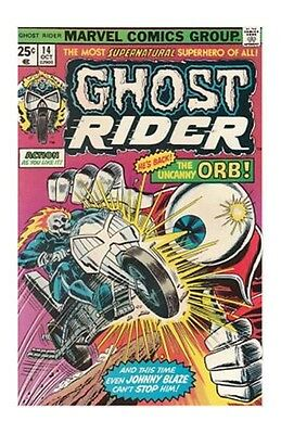Ghost Rider #14 (Oct 1975, Marvel) FN+ COMIC BOOK  BRONZE AGE