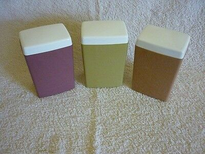 3 x Vintage Retro Astor Canisters