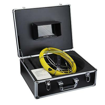 "7"" Pipe Video Camera System Rohr Videokamera Rohr Kamera Drain Sewer Pipe Snake"