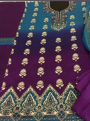 Asian/indian/pakistani Unstitched Warm/winter Alpine Shawl Suit Salwar Kameez