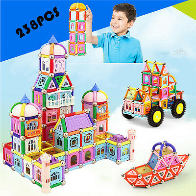 238Pcs Magformers Toys Magnetic Blocks Construction Building Funny Toys Hot