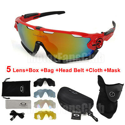 New Bike Cycling Riding Bicycle Fishing Sun Glasses Eyewear Goggles with Mask