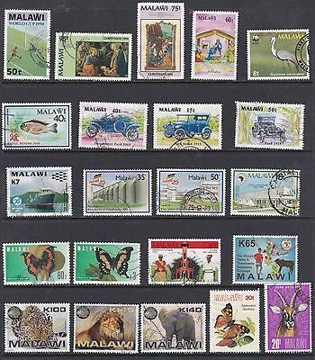 Malawi, Used Stamps, Lote De Sellos Usados