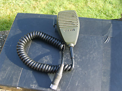 Yaesu Ym-24 Speaker Microphone For Ft 202 Hand Held Amateur Radio Transceiver