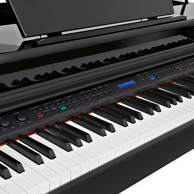 GDP-200 Digital Grand Piano with Stool by Gear4music