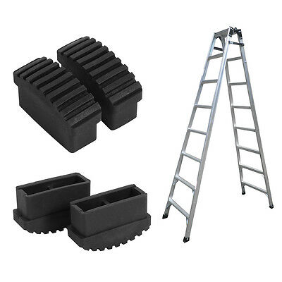 New 2PCS Replacement Rubber Feet Non-Slip Ladder Foot Mat Cushion Sole Durable
