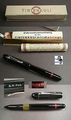 # Rotring Tintenkuli Stylograph 30ties rare early model mint and boxed #