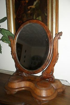 Large Antique Victorian Dressing Table Mirror