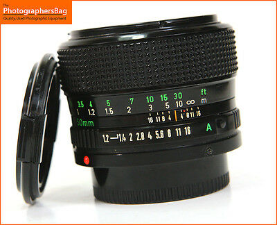Canon 50mm F1.2 Lens. Canon FD Mount Free UK Postage