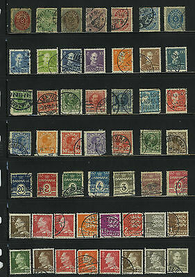 Denmark Danmark Europe Collection Lot Stamps Timbres Sellos Francobolli