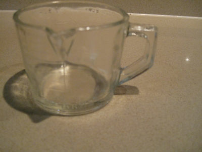 vintage collector glass jug STEARNS vanilla antique RARE