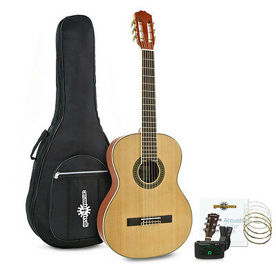Deluxe Classical Guitar Pack by Gear4music