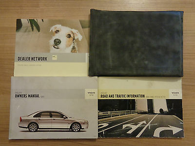 Volvo S80 Owners Handbook/Manual and Wallet 03-06