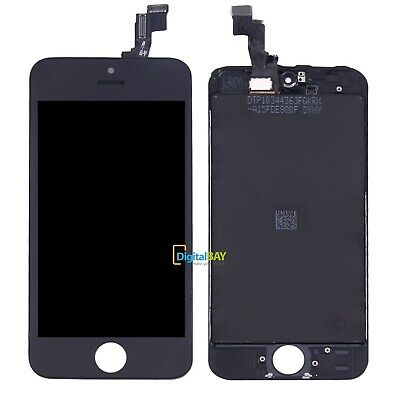 RICAMBIO LCD DISPLAY + TOUCH SCREEN + FRAME NERO per APPLE IPHONE SE + KIT