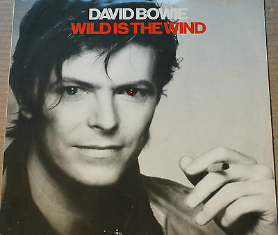 """Rare David Bowie Wild is the Wind 12"""" 45RPM RCA Black Label BOW T10 Avg Cond"""