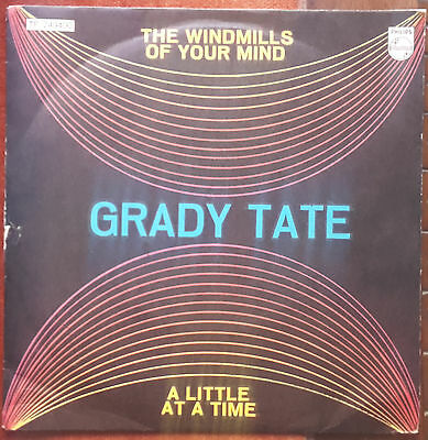 Grady Tate - The Windmills Of Your Mind / A Little At A Time  - 7' Ita 1969
