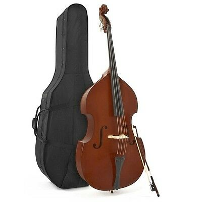 Student 3/4 Double Bass by Gear4music