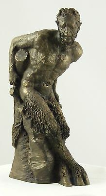 Sculpture of The Great God Pan Wiccan Pagan Magic Statue by Paul Back