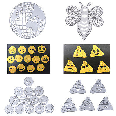Emoji Metal Cutting Dies Stencils DIY Scrapbooking Photo Album Card Diary Crafts