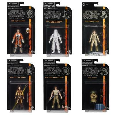 "Star Wars The Black Series 3.75"" Action Figures Official Hasbro Toys"
