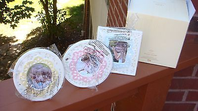 NIB LENOX  BUTTERFLY MEADOW  Set of 3 Small Picture Frames -- NEW