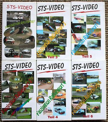 6 x Video Best of Rallye National 1990-2000 - Rallye Action, Drifts, Crash, etc.