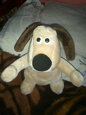 Wallace and Grommit Grommit dog plush toy