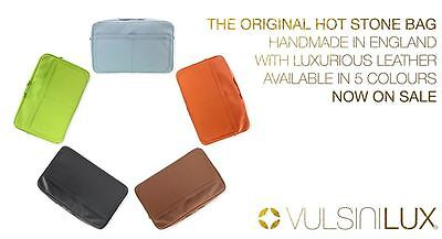 50%OFF  VULSINI LUX - LEATHER Hot Stone Bag - Handmade in England