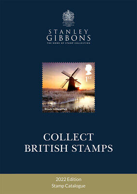 Stanley Gibbons Collect British Stamps 2018 Only £12.95