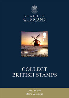 Stanley Gibbons Collect British Stamps 2018 Only £13.95