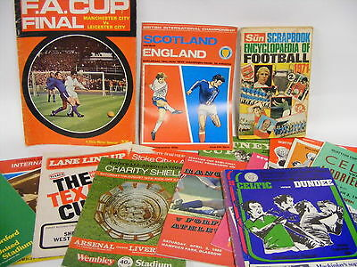 A SELECTION OF FOOTBALL PROGRAMMES AND MAGAZINES (up) Saint Francis Hospice