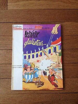 Asterix Gladiateur Eo Pilote Tbe Dos Blanc 1964