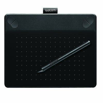 Wacom Small Intuos Photo Pen & Touch Graphic Tablet in Black - New & Sealed