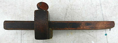 Trauts Patent Stanley Rule & Level Marking Gauge 1886 Early Cast Brass  $5 OFF!!