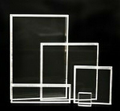 Acrylic Block Starter Set f/ Unmounted Rubber Stamps 5/pc