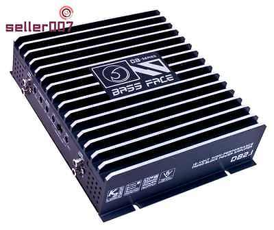 Car Amplifiers Stereo 2 800W Bass Face THD Audiophile Components Electronics
