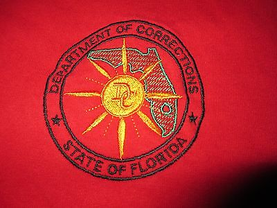 FLORIDA Department of CORRECTIONS Police DOC T Shirt Large
