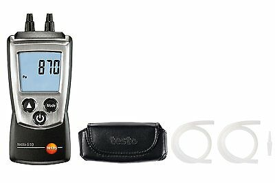 Testo 510 Differential Manometer Kit. Ideal for HVAC Technicians