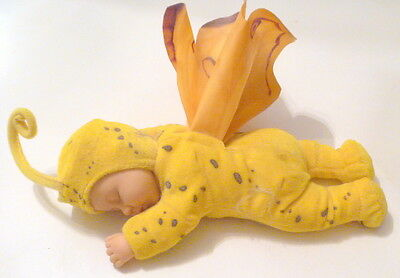 Anne Geddes Butterfly Baby Doll with Yellow Outfit