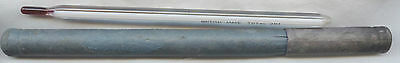 Glass THERMOMETER with Case OLD? - British Made