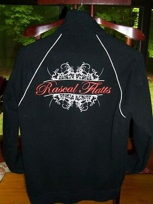 "Reduced.. black with White ""Rascal Flatts"",""Unstoppable"" Jacket, Size M"