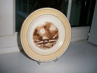 "Bairnsfather Old Bill Grimwades Ww1 Small ""tea"" Plate 61/2"" Dia"