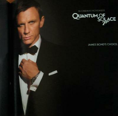 OMEGA Quantum of Solace Bond 007 BOOK ONLY, Very RARE