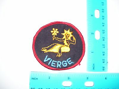 embroidered patch constelation vierge