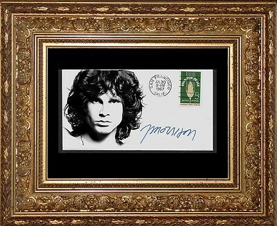 Jim Morrison The Doors Featured on Limited Edition Collector's Envelope *X961