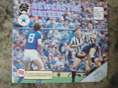 Programme  Newcastle v Ipswich   Milk Cup Replay 1984-85 - Mint Condition.